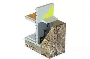 гидроизоляция на блоках из пеностекла в холодной зоне
