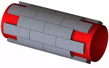 Тепло-шумоизоляция трубопроводов сегментами