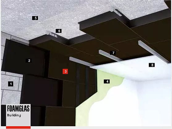 Утепление потолка с последующей отделкой по деревянной или металлической обрешетке