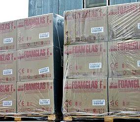 Упаковка изделий из пеностекла FOAMGLAS